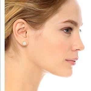 5586a0517 Marc Jacobs Jewelry - Marc Jacobs Enamel Logo Disc Stud Earrings